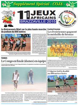 Les Dépèches de Brazzaville : Edition spéciale du 18 septembre 2015