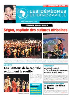 Les Dépêches de Brazzaville : Édition du 6e jour du 10 février 2018