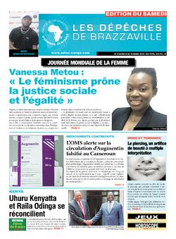 Les Dépêches de Brazzaville : Édition du 6e jour du 10 mars 2018