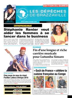 Les Dépêches de Brazzaville : Édition du 6e jour du 24 mars 2018