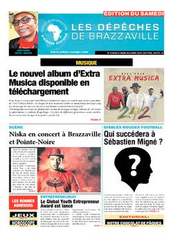 Les Dépêches de Brazzaville : Édition du 6e jour du 31 mars 2018