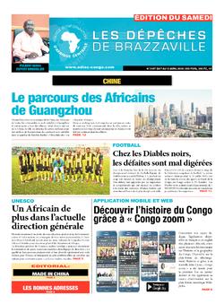 Les Dépêches de Brazzaville : Édition du 6e jour du 07 avril 2018