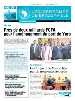Les Dépêches de Brazzaville : Édition brazzaville du 02 mai 2018